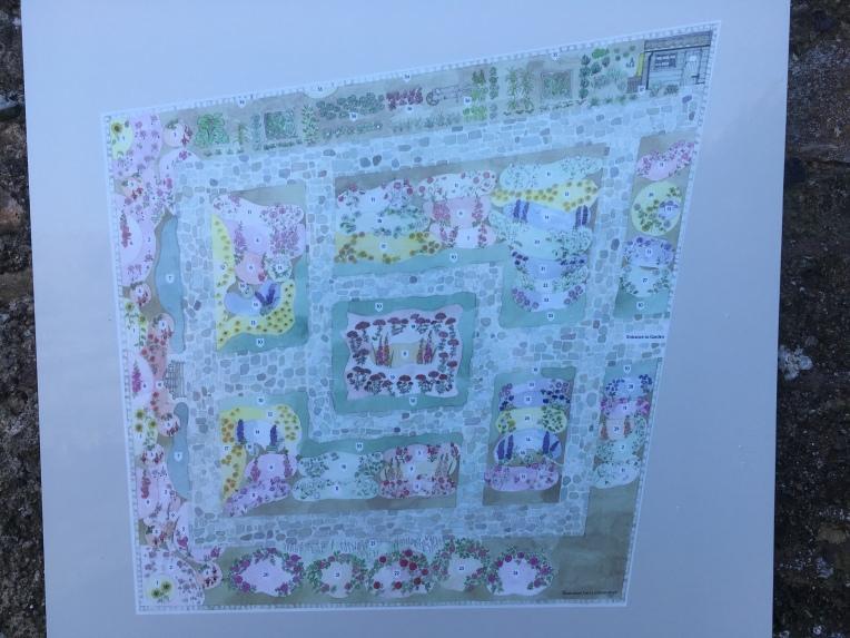 Lindisfarne Jekyll Garden Plan