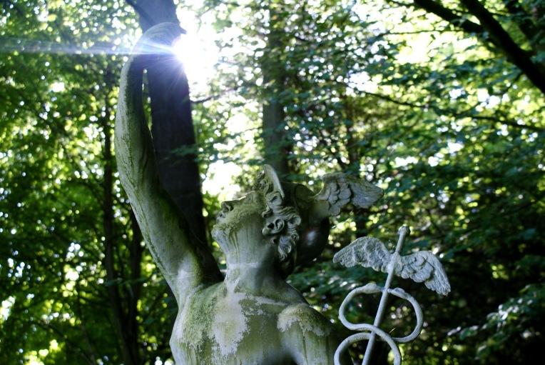 Mercury statue, Rousham Gardens