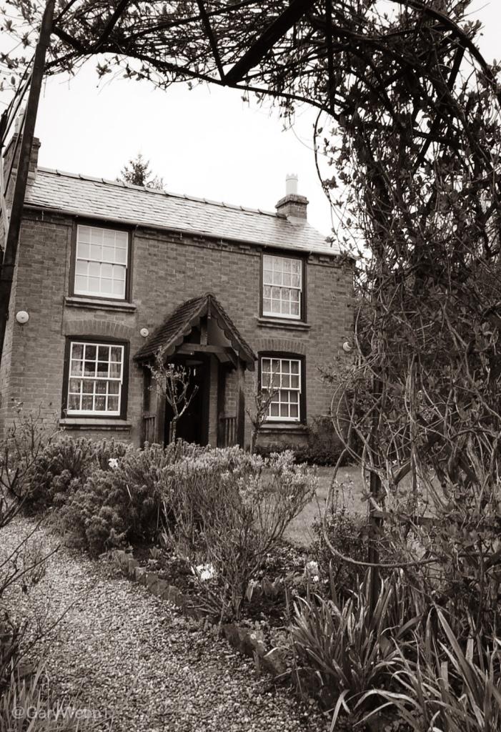 Image of Elgar's Birthplace, facing the Malvern Hills. Copyright: Gary Webb 2019
