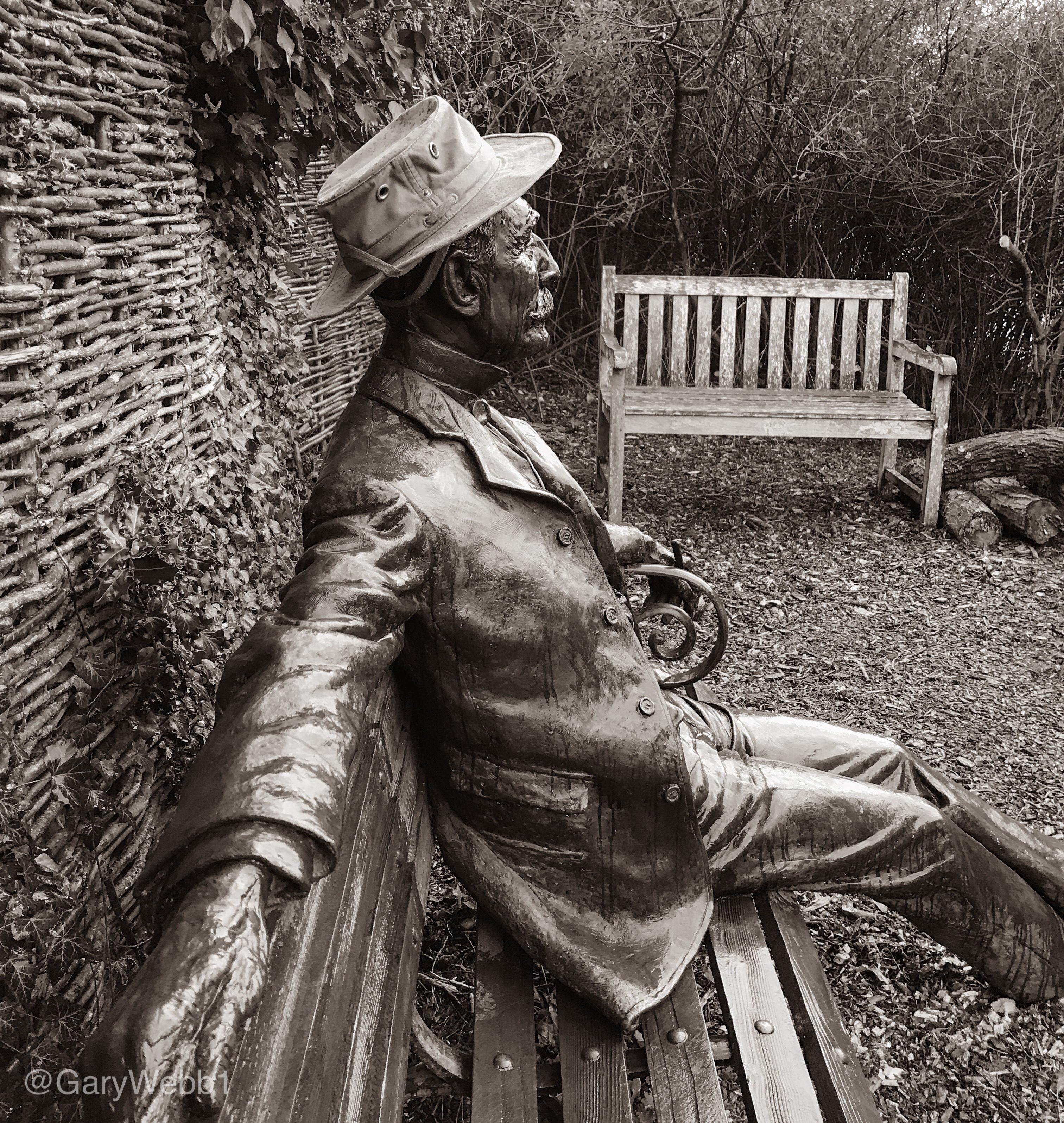 A sculptural Malvern Hills view. Copyright: Gary Webb 2019