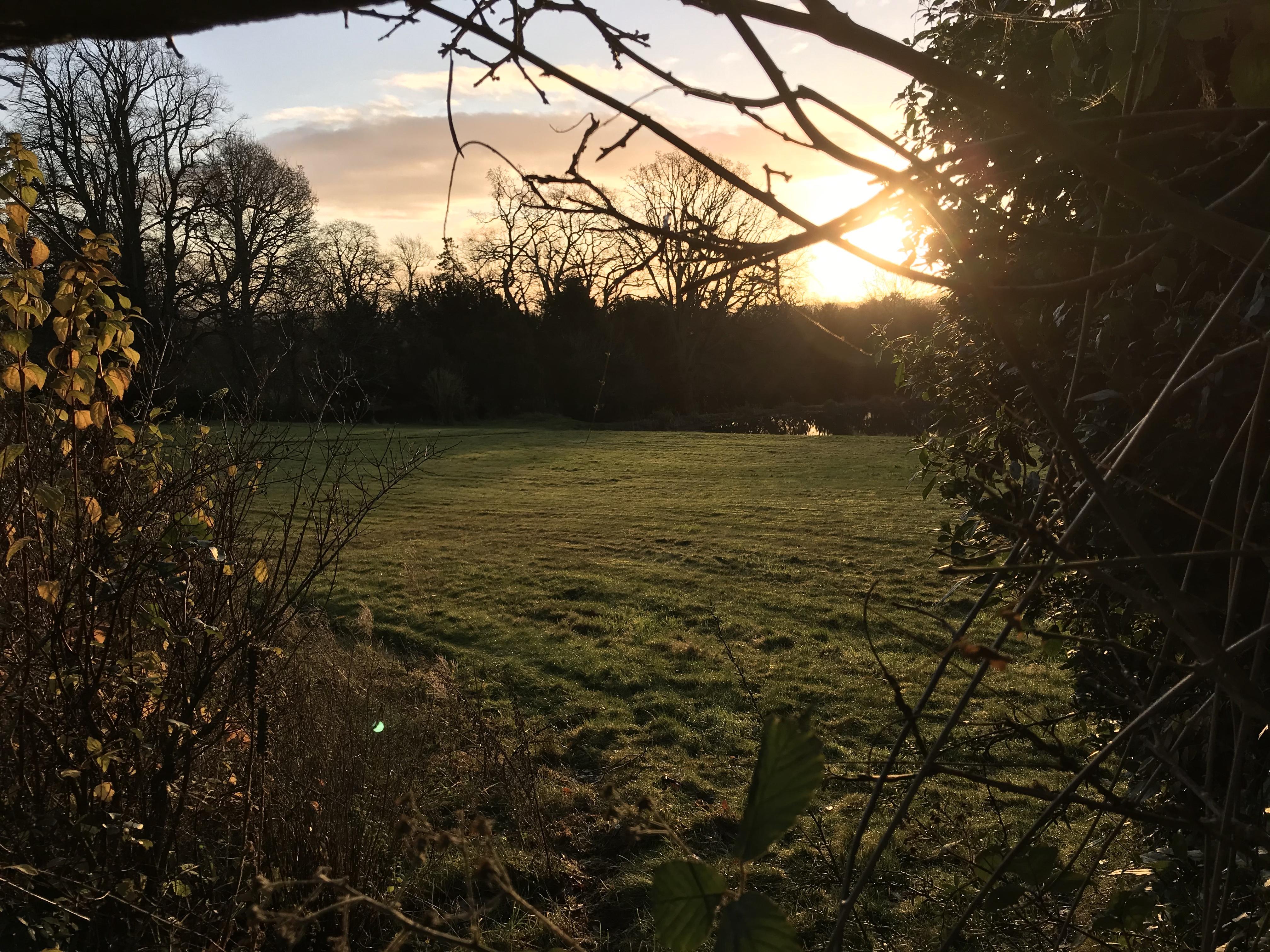Sunrise over Broadwell