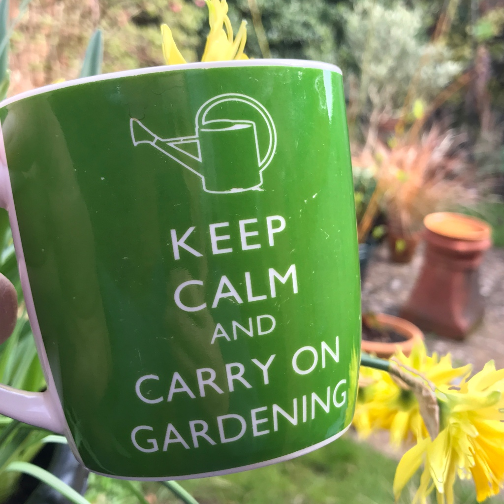 Keep Calm, and Carry On Gardening!