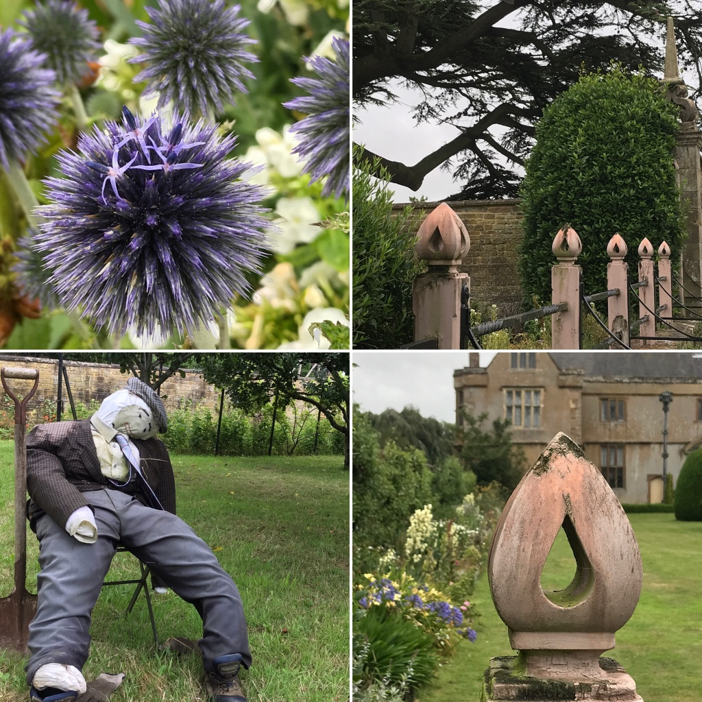 A few images from the garden at Canons Ashby in Northamptonshire