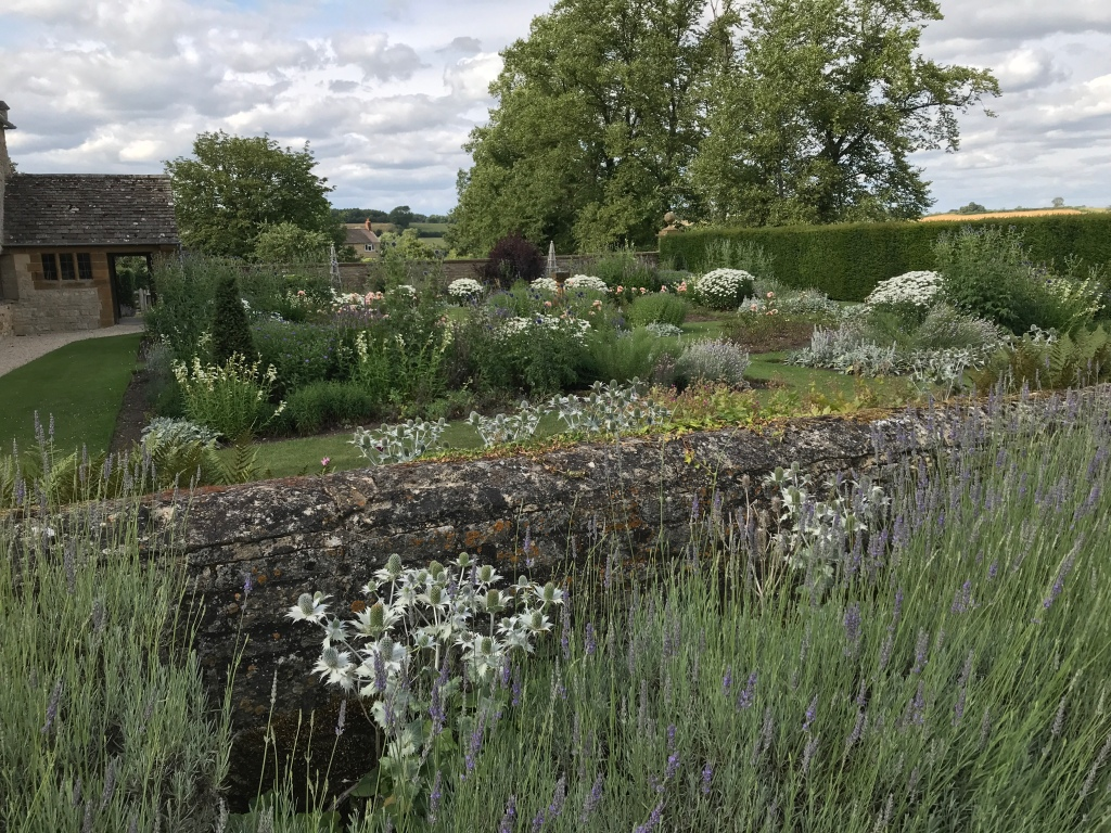 The Rose Garden at Sulgrave Manor
